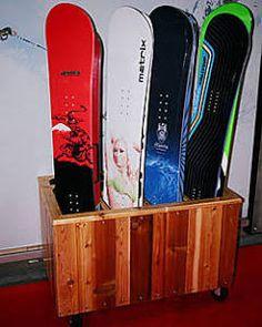 snowboard wall mount - Google Search