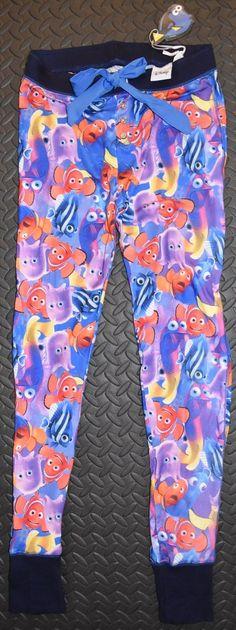 PRIMARK Finding Dory PJ Bottoms Finding Nemo Leggings Disney UK Sizes 6 - 20 NEW £16.99