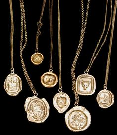 Pyrrha makes stunning talisman necklaces that are meant to inspire you and help to remind you of the things that are important in your life.