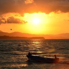 Recordando las puestas de sol desde Punta Arenas Costa Rica