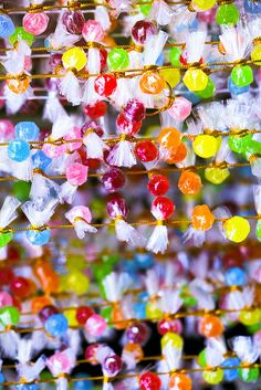 Colourful candy
