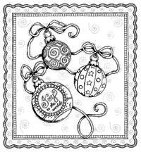 Christmas Ornaments by Karla Dornacher. This link takes you to a page of designs, by Karla, which can be dowloaded at a large size for colouring or painting. Bible Coloring Pages, Online Coloring Pages, Coloring Books, Coloring Sheets, Christmas Images To Color, Christmas Colors, Christmas Ideas, Scripture Crafts, Bible Art