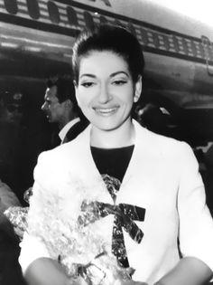 Maria Callas arrivo a Roma  30-9-1971