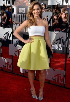4/13 #ジェシカ・アルバ MTV Movie Awards 2014|海外セレブ最新画像・私服ファッション・… |Ameba (アメーバ)