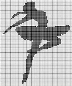 danseuse Crochet Cat Pattern, Crochet Chart, Filet Crochet, Cross Stitch Alphabet, Counted Cross Stitch Patterns, Cross Stitch Charts, Loom Patterns, Embroidery Patterns, Modern Crochet