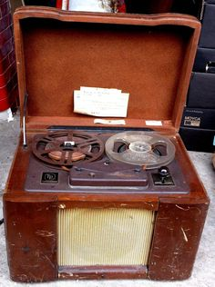 TP SOUNDMIRROR VINTAGE REEL TO REEL TAPE RECORDER by Thermionics Products