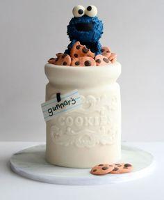 Krümelmonster-Torte
