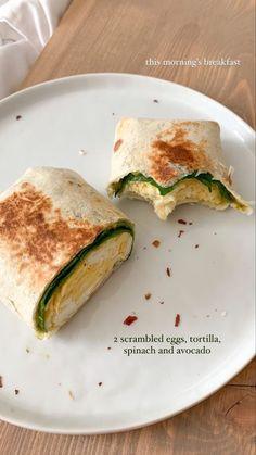 Healthy Breakfast Recipes, Healthy Snacks, Healthy Recipes, Good Food, Yummy Food, Food Is Fuel, Food Goals, Aesthetic Food, Food Cravings