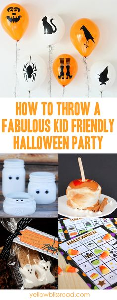 How to throw a fabulous and kid friendly Halloween Party