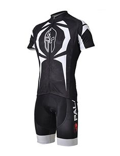 LAOYOU Sharp Thorn Short Sleeve Cycling Jersey And Shorts Set Size 3XL -- Visit the image link more details.