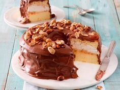Rainbow Gospel Radio   Nutty chiffon cake with vanilla cream filling