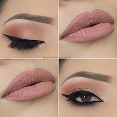 WEBSTA @ jaquelinevandoski - Boa tarde, lindezas! 💞Que tal uma maquiagem delicada para hoje?! 😍 _🔸Paleta Heavy Hitter da @colourpopcosmetics