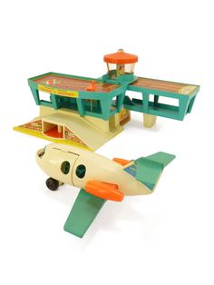 Aéroport Fisher Price 1972