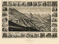 #Virginia City, Nevada Territory - Blue Monocle