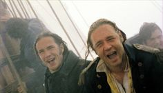 Still of Russell Crowe and James D'Arcy in Master and Commander: The Far Side of the World Peter Weir, Patrick O'brian, Master And Commander, Casino Movie, Wildest Fantasy, James D'arcy, Russell Crowe, O Brian, Senior Home Care