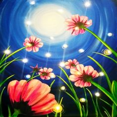 LED Canvas Painting on 02/27 at Muse Paintbar Portland