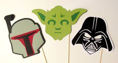 Photo Booth Props Star Wars Inspired Photobooth by PimpYourParty