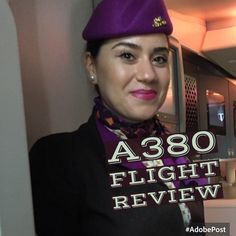 Etihad A380 economy inflight review.