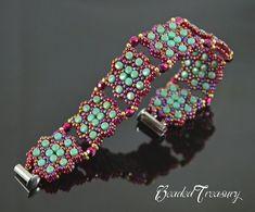 CONSTELLATION Beading tutorial Beaded bracelet pattern with