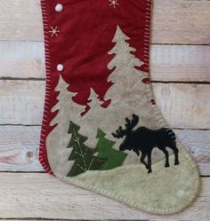 GroopDealz | Rustic Christmas Stockings