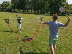 Tragbares Badminton-Set