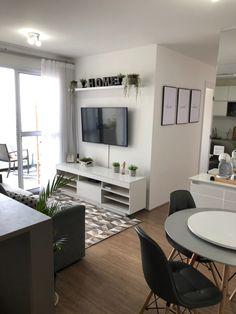 Home Design Decor, Home Room Design, Home Decor Styles, Home Interior Design, Living Room Designs, Small Apartment Design, Apartment Layout, Small House Design, Apartment Interior