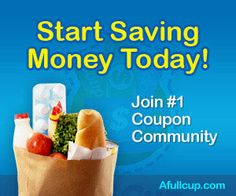Join AFullCup – a Community for Couponers!