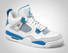 Air Jordan IV - Military Blue: yeah...me and these gotta date tomorrow. #sneakerheadproblems