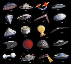 Les formes observées en Ufologie