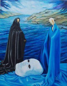 "Saatchi Art Artist Giuseppe Alberto Regoli; Painting, ""Love the light in the darkness"" #art"