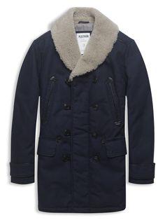 Plectrum Double Breasted Coat, Ben Sherman, 295
