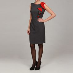 This Calvin Klein dress is so chic!