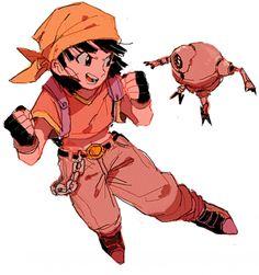 Pan and Giru! - Visit now for 3D Dragon Ball Z compression shirts now on sale! #dragonball #dbz #dragonballsuper