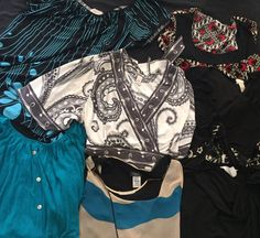Real Nice Lot Of 7 Assorted Styles & Brands Women's Blouses / Tops Size XL  | eBay