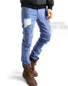 men skinny pants 0063
