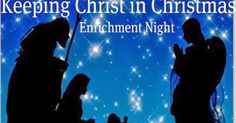 """Maybe next year! Didi @ Relief Society: Christ in Christmas Program - Sample for your December RS """"Enrichment"""" night (see an example of it! Christmas Skits, Ward Christmas Party, Christmas Program, Christmas Activities, Christmas Plays, Christmas Ideas, Christmas Parties, Christmas Music, Christmas Crafts"""