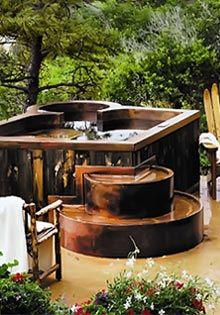 Copper Spas from Diamond Spas