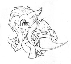 Vampire fluttershy My little pony My little brony