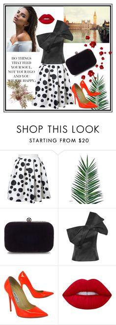 """Fashion-9"" by edima-edic ❤ liked on Polyvore featuring Nika, Jimmy Choo and Lime Crime"