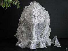 Victorian Lace Whitework Bonnet 4 | by mondas66