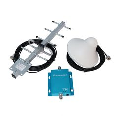 900MHz GSM Mobile Cell Phone Signal Booster Amplifier Repeater With Yagi Antenna
