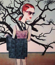 "Saatchi Art Artist Gabriele Koch; Painting, ""PENELOPE   series:  Women in Mythology"" #art"