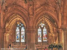 The Rossalyn Chapel, Scotland.