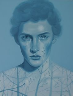 "Kris Knight (Canadian, b. 1980) - ""Blue Moon"", 2012 - Oil on canvas"