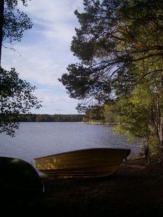 Does it get much more Finnish? Lake Pyhäjärvi in Satakunta, near Kauttua, September 2011.