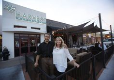 Oro Valley's Harvest Restaurant snagged the prize as the area's most romantic dining spot in Caliente's Candlelight Madness contest in February. And now they are offering a little romance under a blanket of stars.