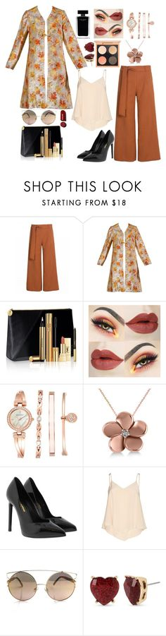 """""""Untitled #795"""" by the-luxurious-glam ❤ liked on Polyvore featuring Yves Saint Laurent, Anne Klein, Allurez, Alice + Olivia, Narciso Rodriguez and Betsey Johnson"""