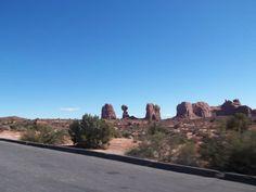 from afar - balanced rock, Moab