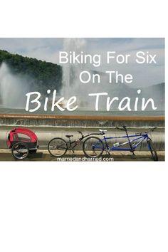 Family Fun   Family Biking   Tandem Bicycle  Summer Activity   Frugal Fun