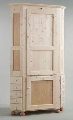 eckschrank mit tisch bauen for the home pinterest corner cupboard party guests and cupboard. Black Bedroom Furniture Sets. Home Design Ideas